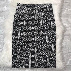 Geometric Lularoe Skirt